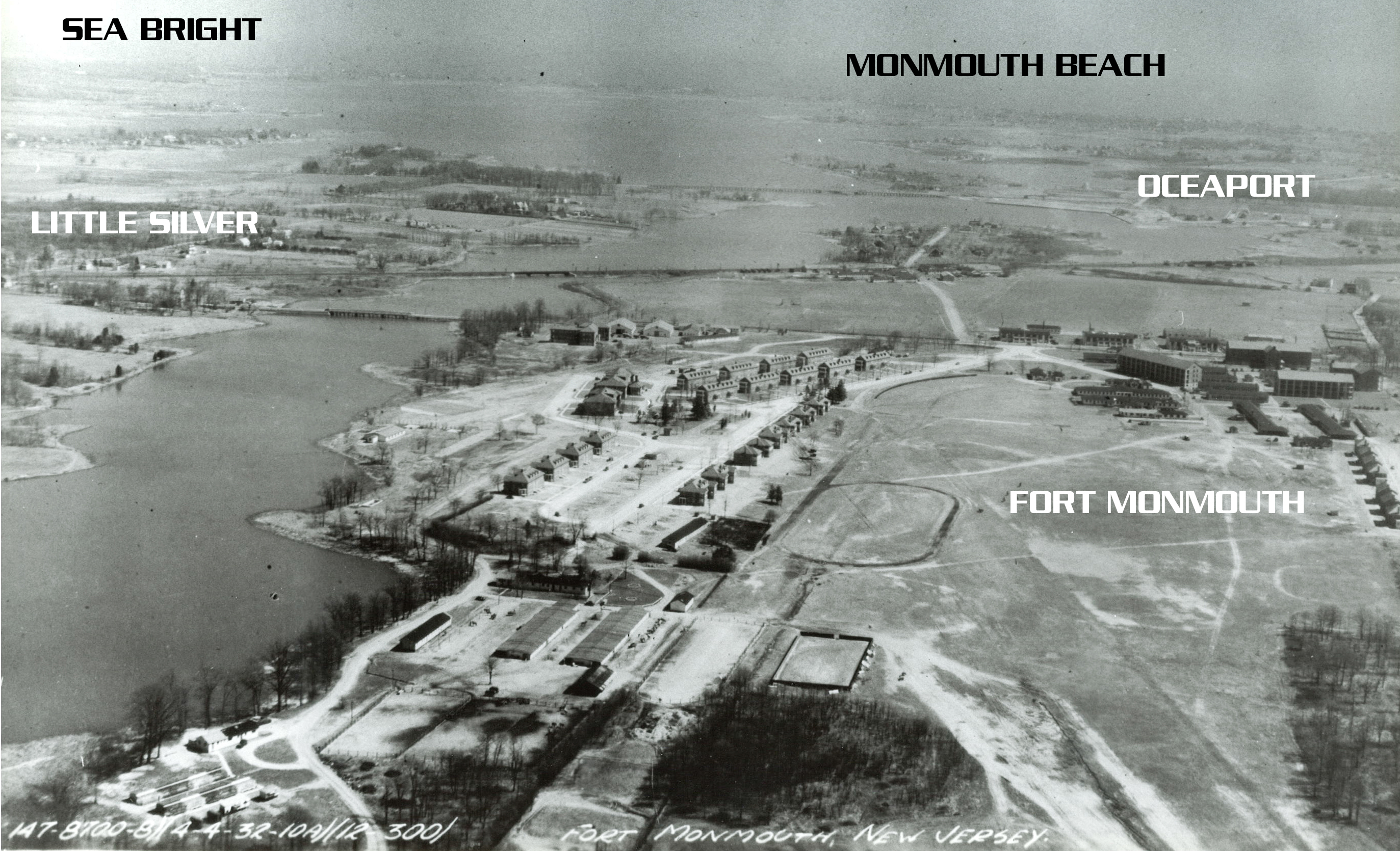 Images of Fort Monmouth circa 1930 from The Graphics Guy